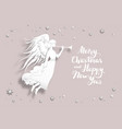 holiday christmas design vector image