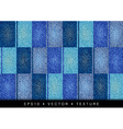 texture grain four blue color vector image vector image