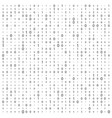 background with digits on screen binary code zero vector image vector image