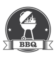 Barbecue bbq and grill party stamp vector image vector image