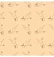 cezve coffee seamless vector image vector image