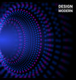 dynamic particles suitable for vector image vector image