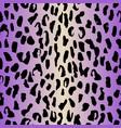leopard neon seamless pattern animal gradient vector image vector image