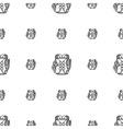 Rucksack background vector image vector image