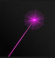 single laser beam vector image vector image