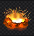 splash explosion concept background realistic vector image