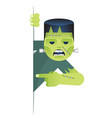 undead abomination costume role character vector image vector image