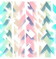 abstract color geometric seamless pattern vector image