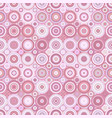 abstract repeating circle mosaic pattern vector image vector image