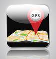 app gps vector image vector image