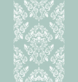 damask floral wallpaper vector image vector image