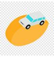 desert car isometric icon vector image vector image