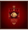 magenta menu vector image vector image