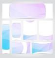 modern designed brochure card flyer layout vector image vector image