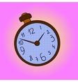 Pocket watches pop art vector image vector image