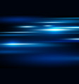 abstract blue speed motion background vector image vector image