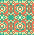 Abstract seamless ornament patternkaleidoscope vector image vector image