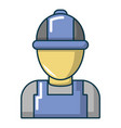 auto car mechanic icon cartoon style vector image