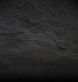 Black Concrete Wall vector image vector image
