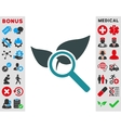 Explore Natural Drugs Icon vector image vector image