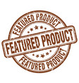featured product stamp vector image vector image