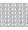 honeycomb sketch pattern seamless art background vector image vector image