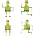 Irish leprechaun vector image vector image
