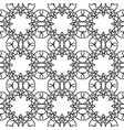 abstract ornate minimalistic seamless pattern vector image vector image