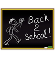 Back 2 school vector image vector image