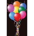 Colourful Birthday Or Party Balloons vector image vector image