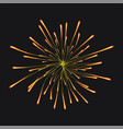 firework concept background realistic style vector image