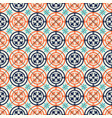 gorgeous seamless pattern moroccan portuguese vector image vector image