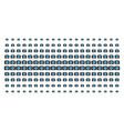 photo camera shape halftone grid vector image vector image