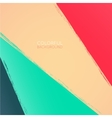 Abstract background Multicolored paint stripes vector image vector image