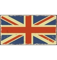 British grunge flags vector image vector image