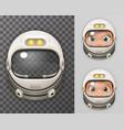 Cosmonaut Helmet Realistic 3d Astronaut Spaceman