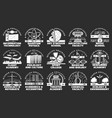 education icons university school and academy vector image