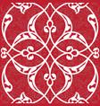 iznik tile seamless pattern design classical vector image