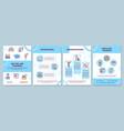 on job training brochure template vector image vector image
