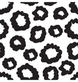 hand-painted seamless pattern with circles vector image
