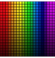 Background of rainbow colored mosaic vector image vector image
