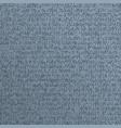 blue alien incomprehensible computer code vector image vector image