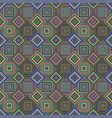 colorful seamless diagonal square pattern - tiled vector image vector image