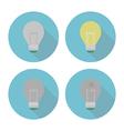 lightbulbset vector image vector image