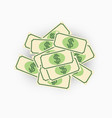 paper money currency bill vector image