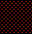 red geometrical seamless dot pattern background vector image vector image