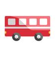 bus flat vector image vector image