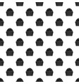 cup cake pattern vector image vector image
