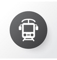 electric train icon symbol premium quality vector image