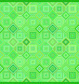 green geometrical diagonal square mosaic tile vector image